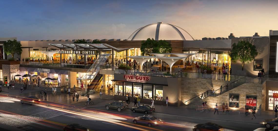 Burbank Empire Shopping Center